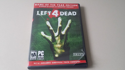 videojuego left 4 dead para pc original