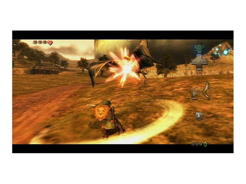 videojuego legend of zelda: twilight princess (wii)