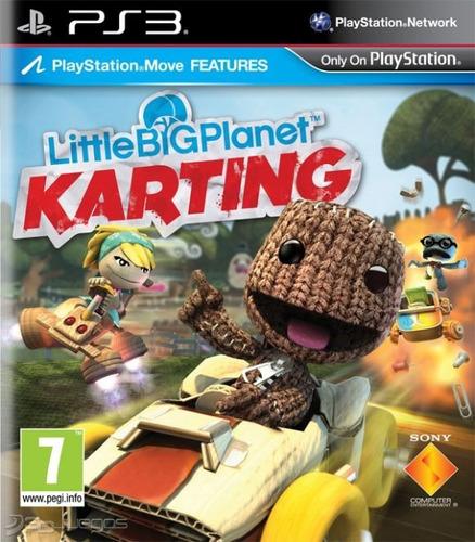 videojuego little big karting ps3 español tienda/garantía