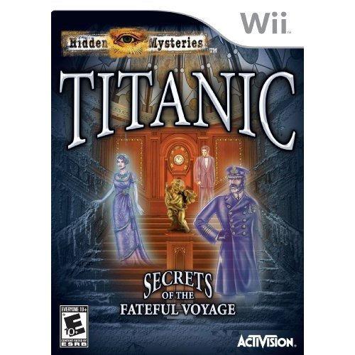 videojuego los misterios ocultos: titanic nintendo wii