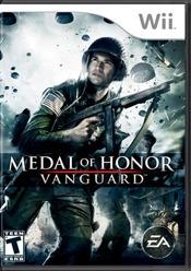 videojuego medal of honor: vanguard (wii)