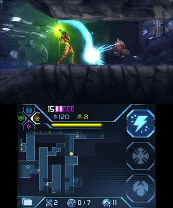videojuego metroid samus returns nintendo 3ds nintendo