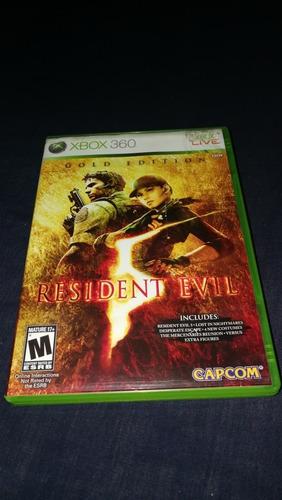 videojuego microsoft xbox 360 resident evil 5