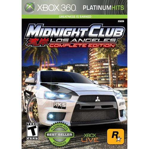 videojuego midnight club: los angeles edición completa