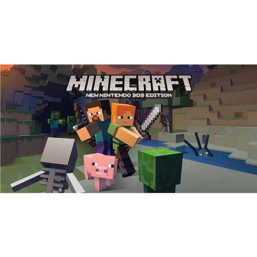 videojuego minecraft nwe nintendo 3ds edition