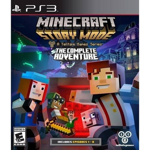 videojuego minecraft story mode the complete adventure