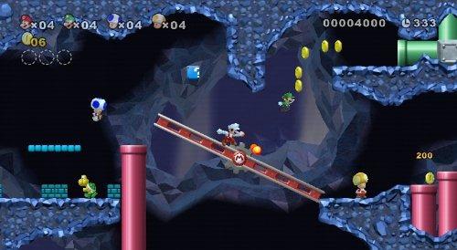 videojuego new super mario bros nintendo wii