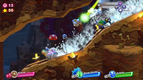 videojuego nintendo switch kirby star allies nintendo