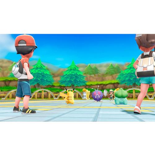 videojuego nintendo switch pokémon lets go eevee