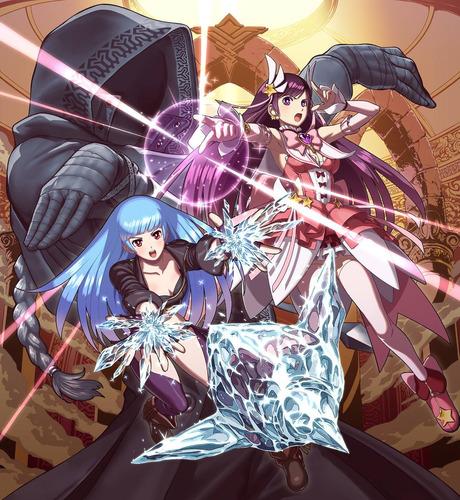 videojuego nintendo switch snk heroines tag team frenzy