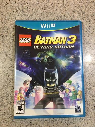 videojuego para wii u batman 3 lego