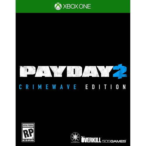 videojuego payday 2 crimewave (xbox one)