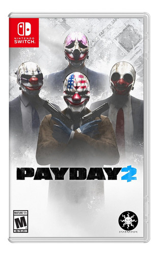 videojuego payday 2 para nintendo switch