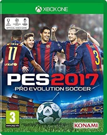 videojuego pes - pro evolution soccer 2017 -xbox one - nuevo