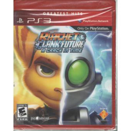 videojuego playstation 3 ps3 ratchet and clank a crack in ti