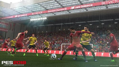 videojuego pro evolution soccer 2018 xbox 360 ibushak gaming