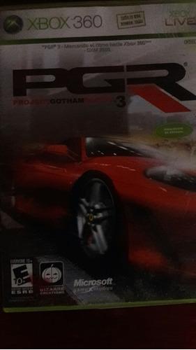 videojuego project gotham racing 3 para xbox 360
