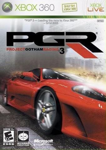 videojuego project gotham racing 3 xbox 360 seminuevo