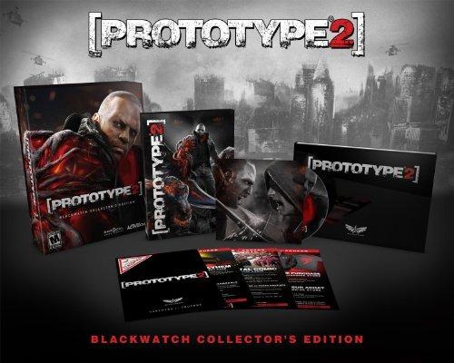 videojuego prototype 2 blackwatch edición de coleccionista