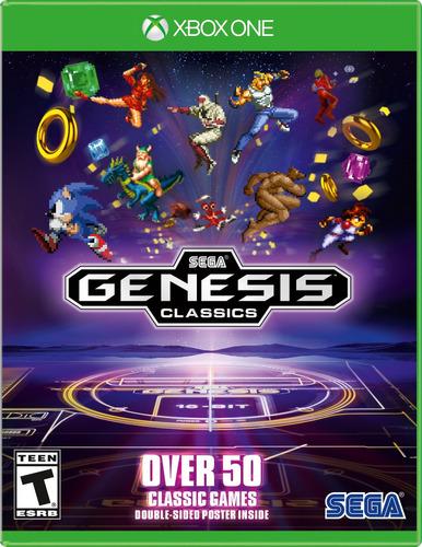 videojuego sega genesis classics xbox one