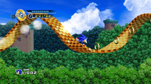 videojuego sonic the hedgehog 4  episode i - pc steam