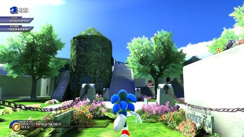 videojuego sonic unleashed wii