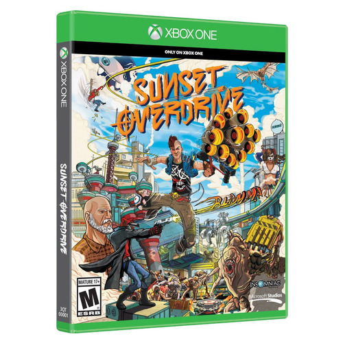 videojuego sunset overdrive (xbox one)