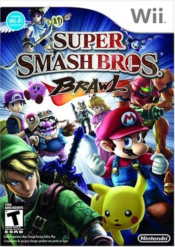 videojuego super smash bros. brawl nintendo wii