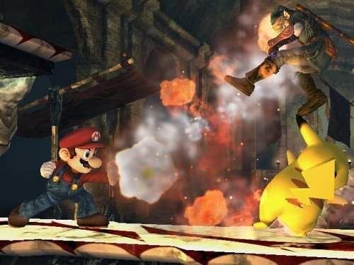 videojuego super smash bros brawl nintendo wii
