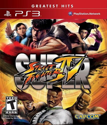 videojuego super street fighter 4 ps3 tienda//garantía