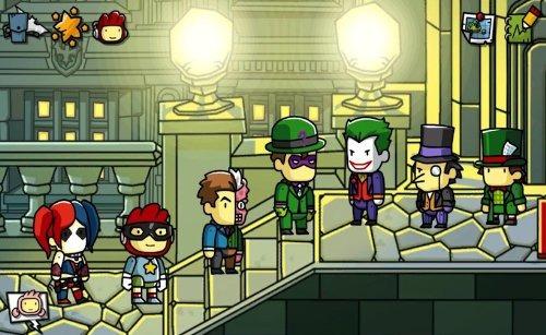 videojuego wii u scribblenauts unmasked - a dc comics advent