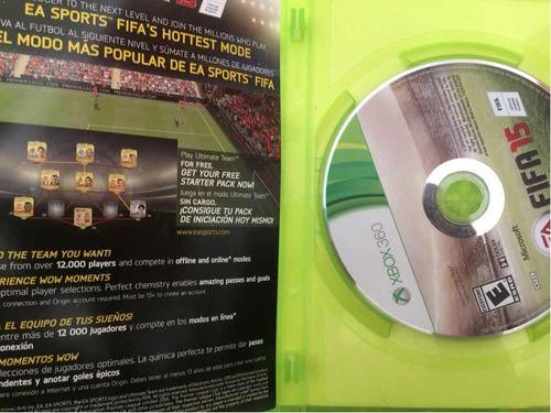 videojuego xbox 360 fifa