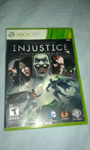 videojuego xbox injustice