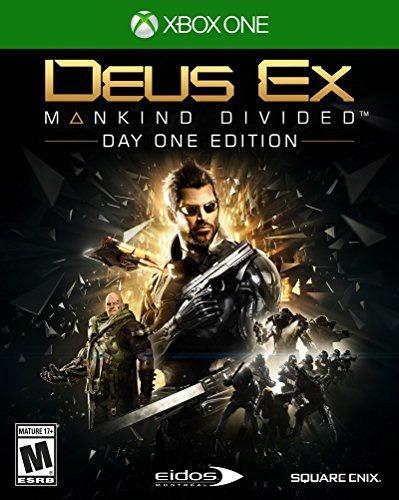 videojuego xbox one deus ex mankind divided
