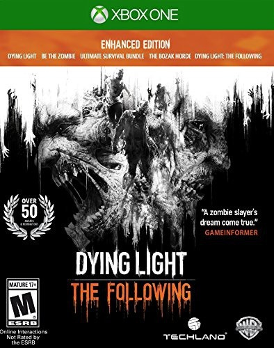 videojuego xbox one dying light the following enhanced ed
