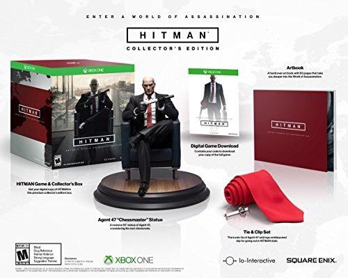 videojuego xbox one hitman collector s edition