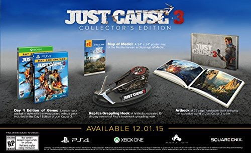 videojuego xbox one just cause 3 collector s edition