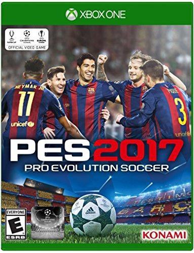 videojuego xbox one pro evolution soccer 2017 standard ed