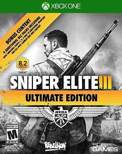 videojuego xbox one sniper elite iii ultimate edition
