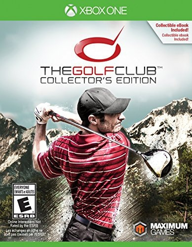 videojuego xbox one the golf club collector s edition