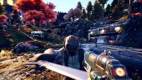 videojuego xbox one the outer worlds, private division
