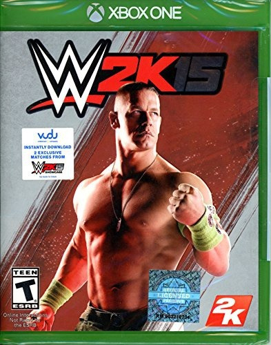videojuego xbox one wwe 2k15 w 2 exclusive matches