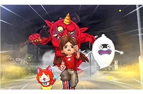 videojuego yo-kai watch 2 bony spirits nintendo 3ds gamer