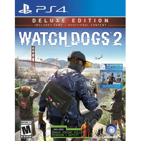 Watch Dogs 2 Deluxe Edition Ps4 Sellado Ulident