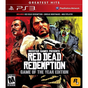 Red Dead Redemption Goty .- Ps3 Sellado Ulident