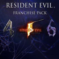 Resident Evil Pack Ps3   Digital   Incluye 3 Juegos