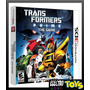 3ds Transformers Prime The Game - Nuevo, Original Y Sellado