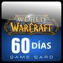 Tarjeta Prepago World Of Warcraft De 60 Dias (us) Nueva