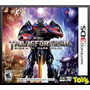 3ds Transformers Rise Of The Dark Spark Nuevo Y Sellado