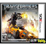 3ds Transformers Dark Of The Moon - Nuevo Y Sellado